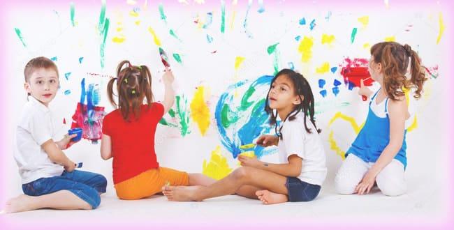 El arte en los niños de 0 a 6 años
