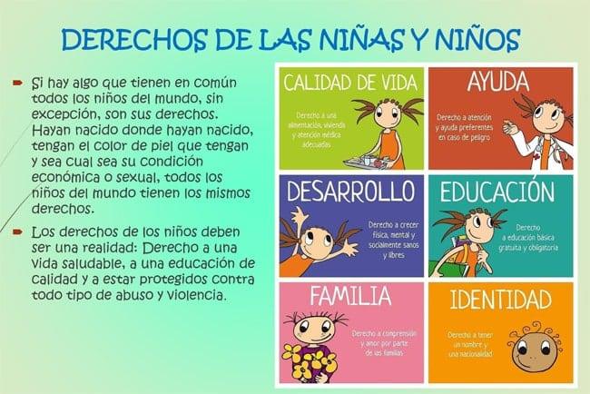 Derechos de las niñas y niños