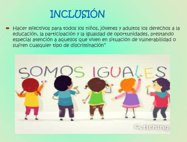 Inclusión