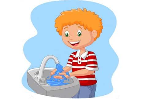 Higiene en los niños