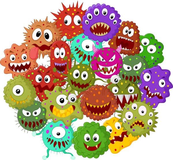 Coronavirus animado
