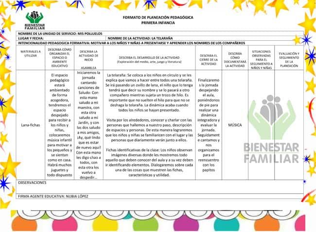 Planeación pedagógica