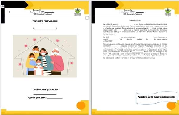 Ejemplo de una propuesta pedagógica
