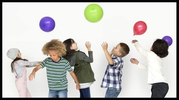 No dejar caer el globo