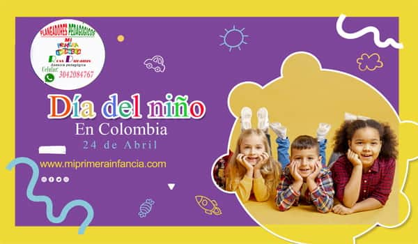 Día del niño en Colombia