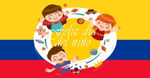 Día internacional del niño en Colombia
