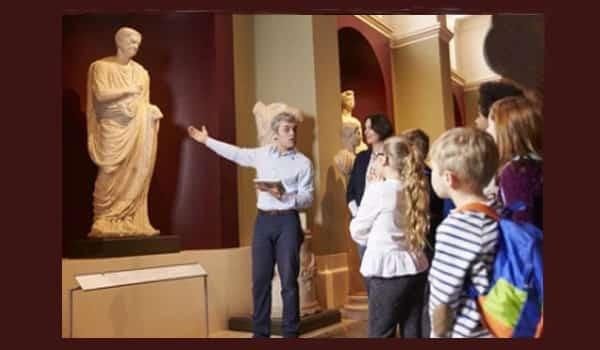 Visitar el museo
